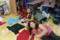 Taneční kroužek při spaní ve škole