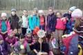 Sázení lesních stromků (1.B + III. třída), 12. 4.